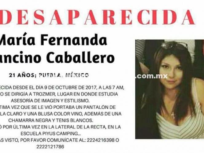 Desaparece otra estudiante en Puebla; iba para la escuela