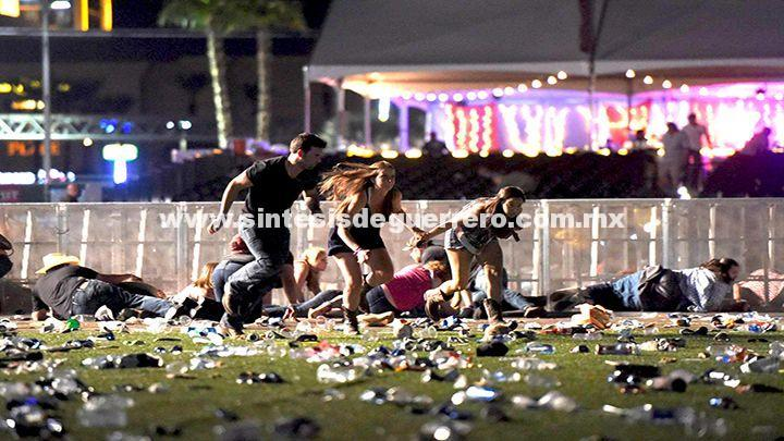 Tiroteo en Las Vegas: Al menos 50 muertos y 400 heridos tras violento ataque