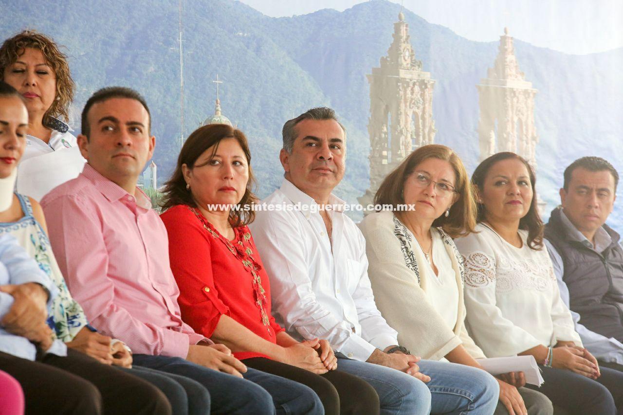 Confirma la población de Taxco el esfuerzo y compromiso de Héctor Astudillo con la reconstrucción de Guerrero