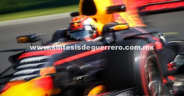 Verstappen lidera en Libres 3; cinco coches en 0'2 segundos
