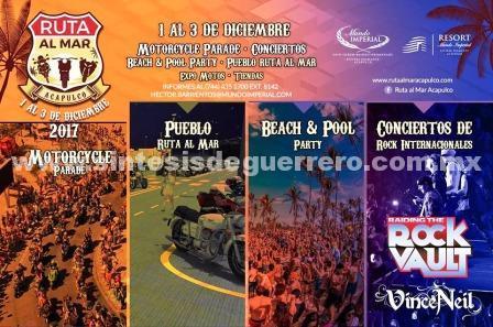 Acapulco sede de la primera edición del Bike Fest & Rally