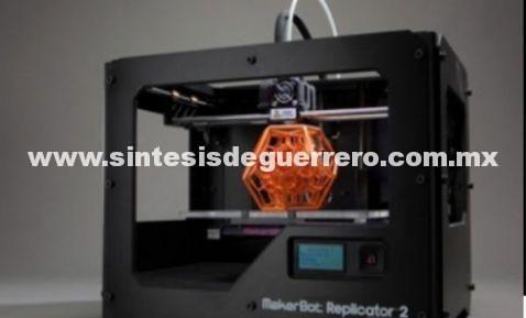 Impresoras 3D incursionarán en la reproducción de alimentos
