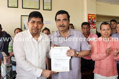 Designan a Roberto Nieto como coordinador de Servicios Públicos Municipales