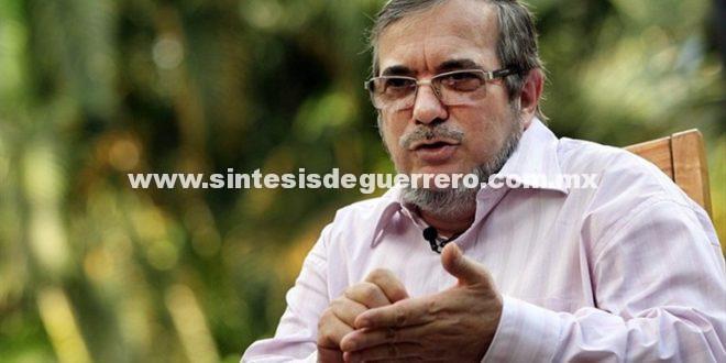 Jefe de FARC planea consulta sobre candidatura presidencial