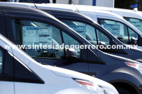 Venta de autos cae 10.2% en México en el mes de octubre
