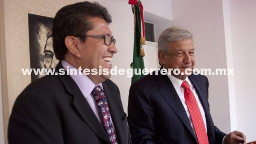 Reunión AMLO-Monreal, pactada para la próxima semana