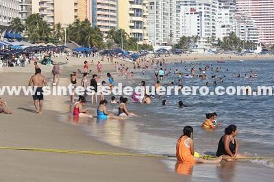 Reporta Acapulco ocupación hotelera del 78.8 por ciento
