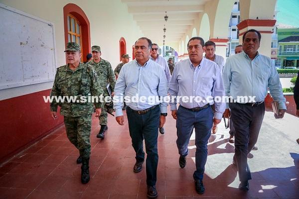 Confirma Héctor Astudillo operativo para vigilar escuelas en chilapa y Alrededores