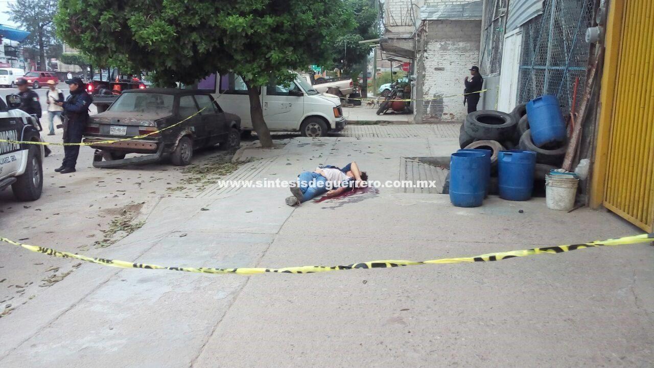 Amanece ejecutado en Chilapa