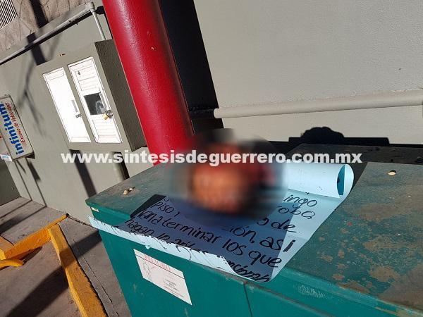 Chilpancingo: dejan restos de presunto ladrón, en tres tiendas de autoservicio