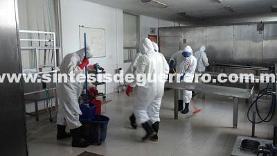 Concluyen labores de mantenimiento en cámaras de conservación del SEMEFO de Chilpancingo