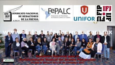 Club de Periodistas de Guerrero participó en encuentro nacional gremial