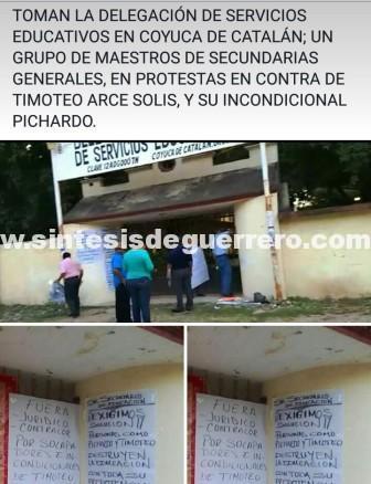 Bloqueos y protestas en Chilpancingo, Acapulco, TC y Costa Grande