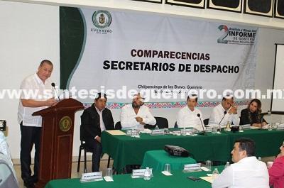 Comparece Ernesto Rodríguez Escalona ante diputados de la sexagésima primera legislatura
