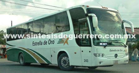 Asaltan dos autobuses cerca de Teloloapan