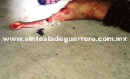 Lo decapitan en Huitzuco