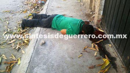 Acribillan a 3 hombres en la periferia de Acapulco