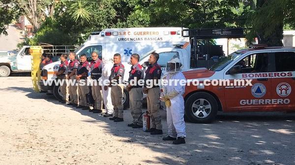 Implementa Protección Civil operativo por Día de Muertos en Guerrero