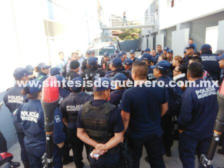 Paran policías de Iguala