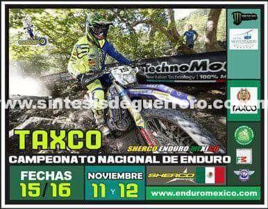 Taxco de Alarcón, este sábado y domingo recibe a motociclistas para el Campeonato Nacional de Enduro 2017
