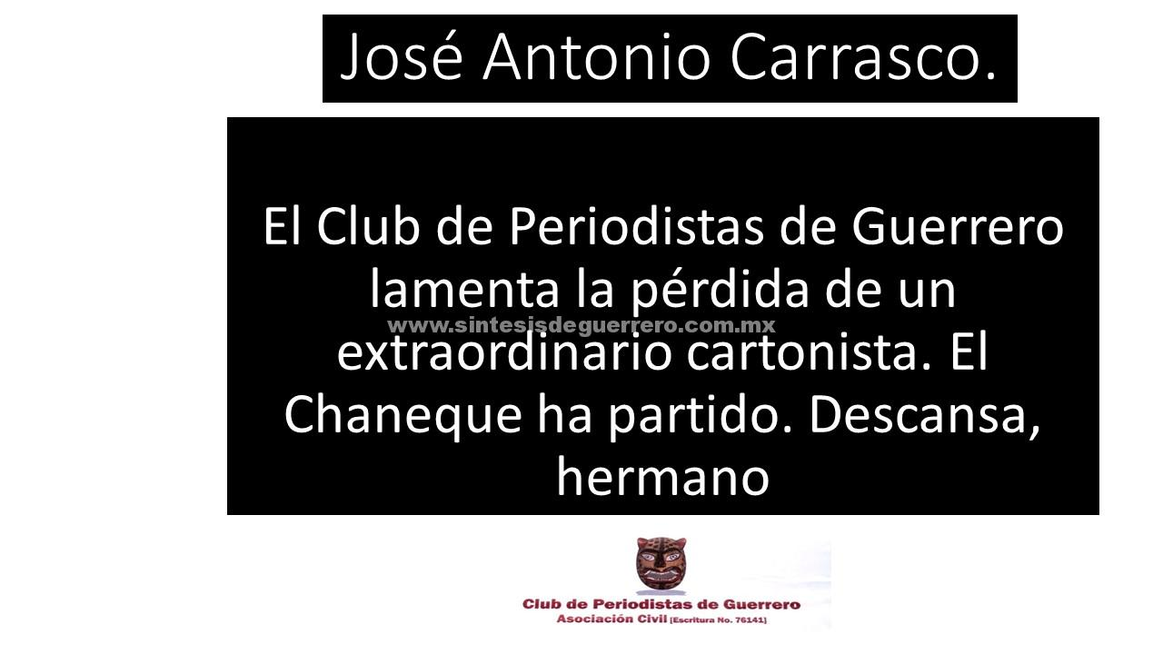 Fallece el cartonista José Antonio Carrasco, El Chaneque