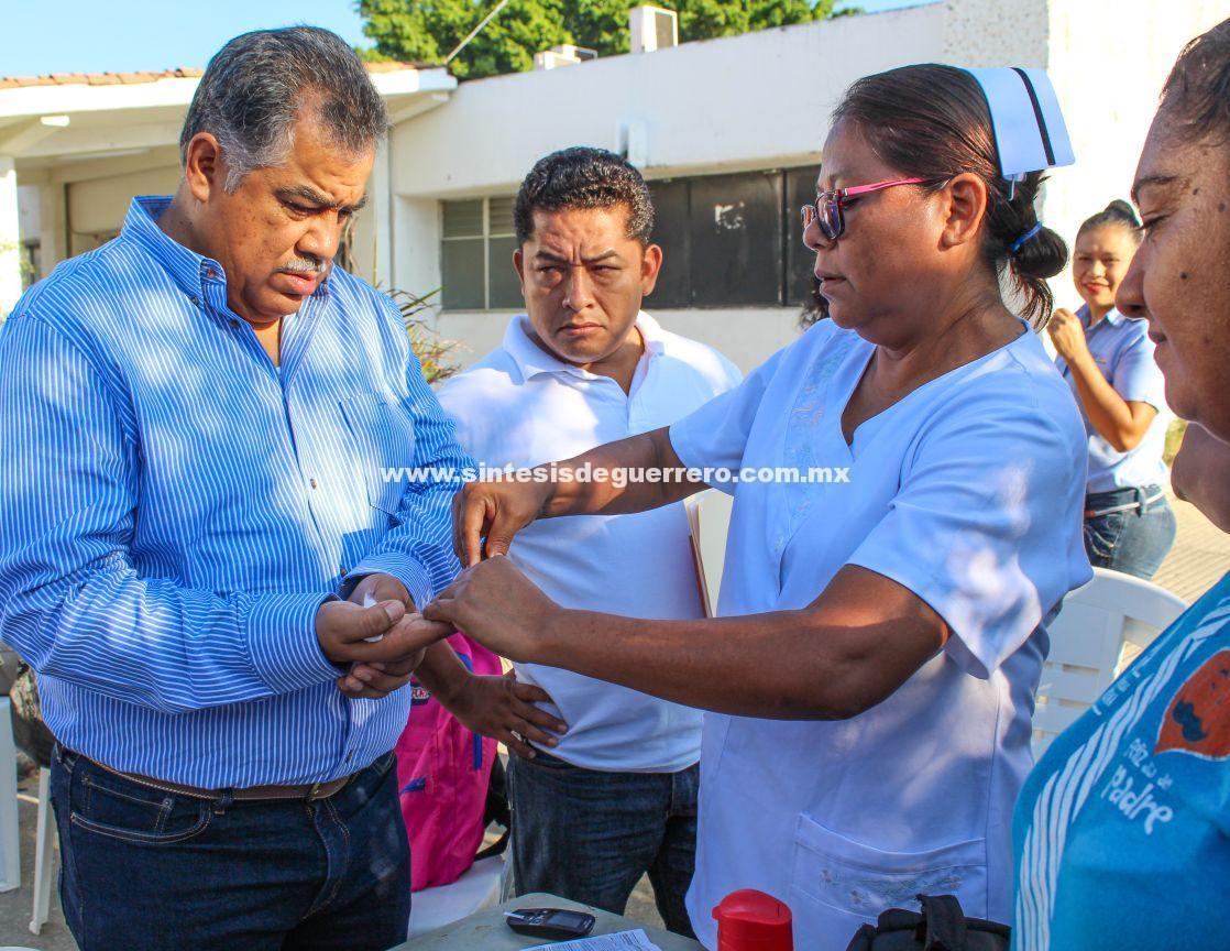 Prevenir y detectar la diabetes a tiempo, tema de importancia nacional y mundial: Víctor Aguirre
