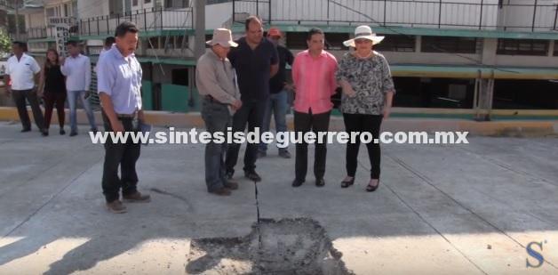 (Video) Supervisa Evodio construcción de puente en la Vía Rápida