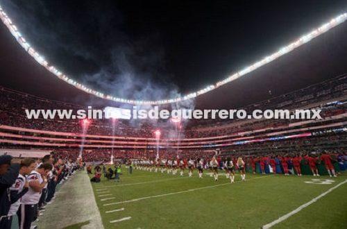 Todo listo para encuentro entre Patriotas y Raiders en el Azteca