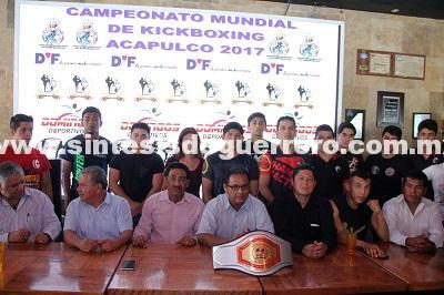 Realizarán Campeonato Mundial de Kick boxing Acapulco 2017