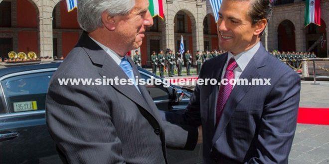 México y Uruguay acuerdan fortalecer TLC