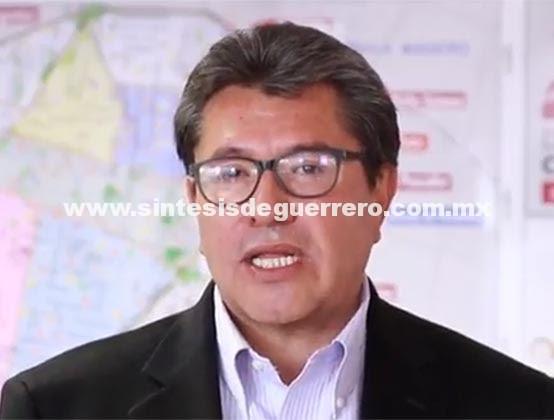 Ricardo Monreal confirma que seguirá 'luchando' desde Morena