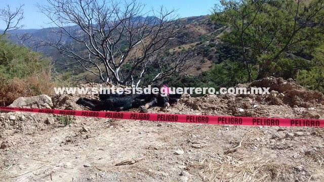 Los cinco calcinados hallados en Olinalá, eran una familia de Ocuituco, Morelos