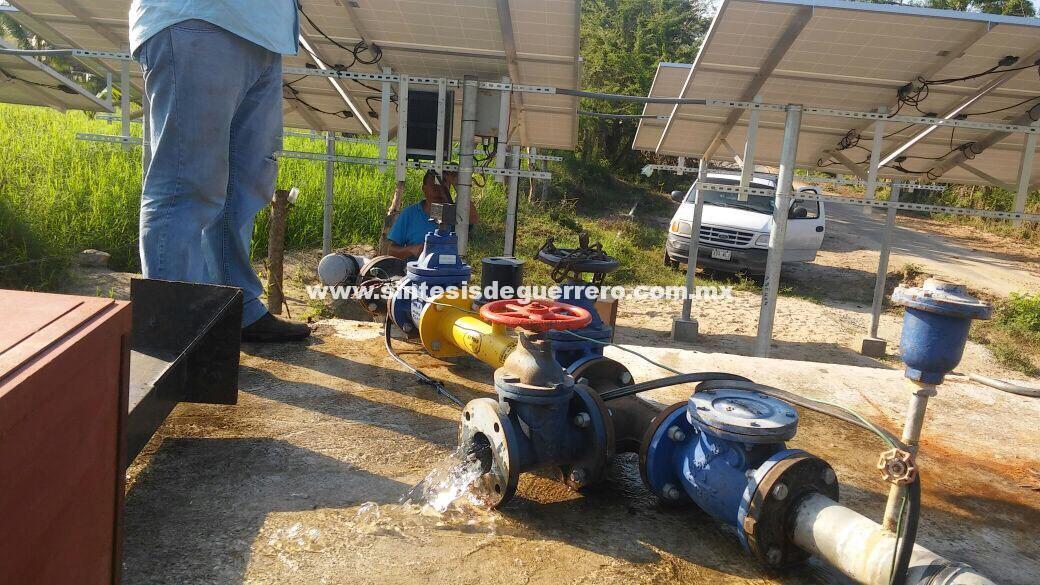 Totalmente restablecido el servicio de agua potable en San Marcos