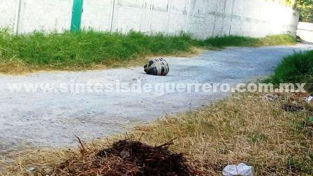 Tiran un cuerpo cerca de la Fiscalía General de Guerrero