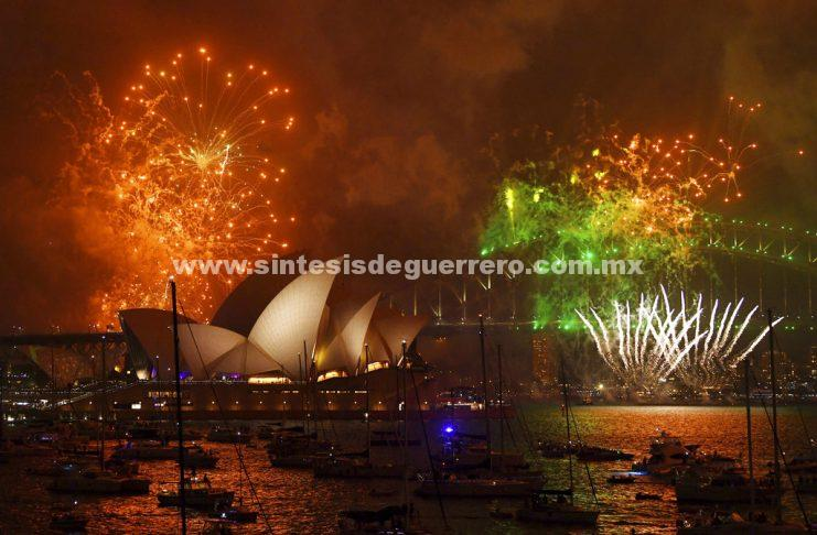 Australia, Nueva Zelanda, los primeros en celebrar Año Nuevo