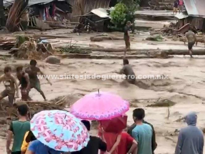 Más de 100 muertos en Filipinas por deslizamientos de tierra e inundaciones