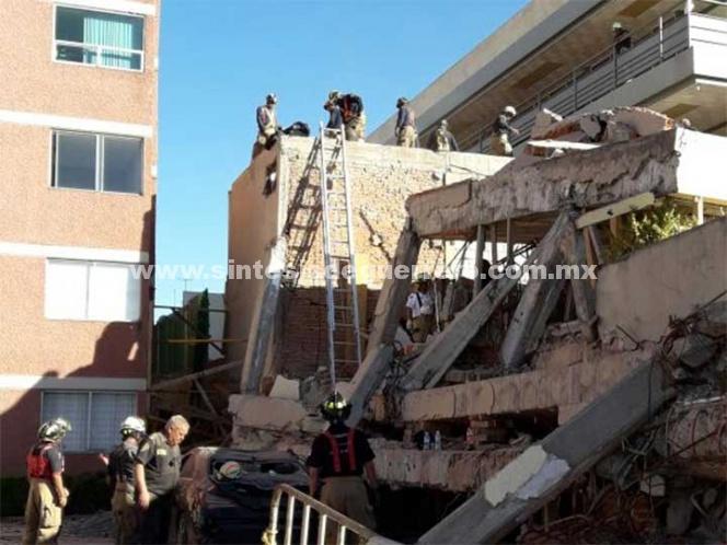 Inician demolición de parte del colegio Rébsamen