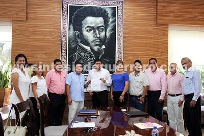 Recibe Daniel Meza a presidentes distritales del IEPC Guerrero