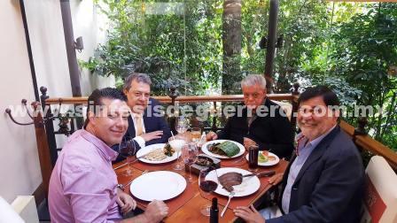 Tres ex gobernadores hacen política electoral en Guerrero