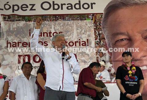 Cuando gane, pediré a Peña que frene privatización: AMLO