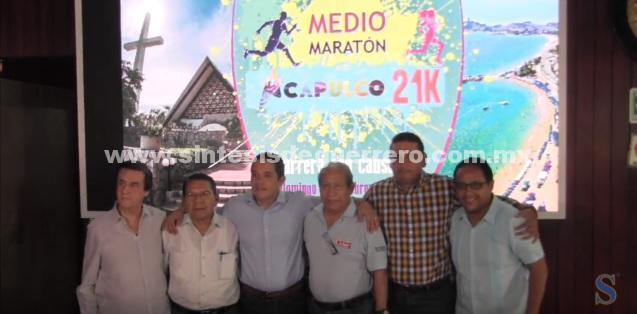 """(Video) Invita gobierno municipal al """"Medio Maratón Internacional Acapulco 21K"""""""