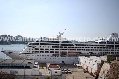 Recibe gobierno de Acapulco al crucero Sirena, noveno de la temporada