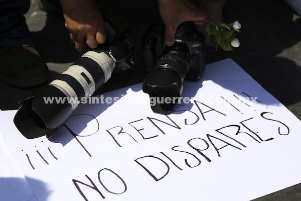 Incumple Peña Nieto con protección a periodistas