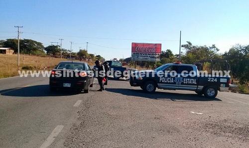Continúan patrullajes de la policía del estado en municipios y playas de Costa Chica
