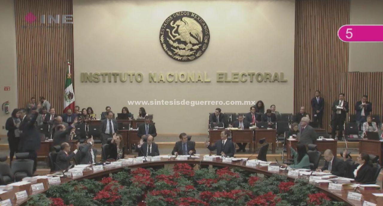 Aprueba INE nombramiento de Presidente del IEPC-Guerrero, ligado a Manuel Añorve
