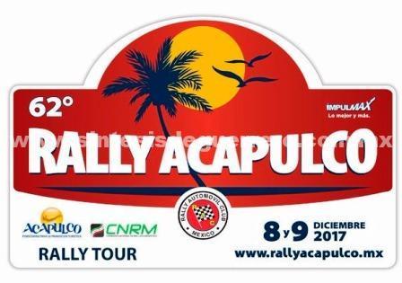 Guerrero sede del 62° Rally Tour Acapulco