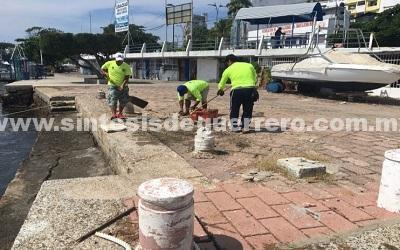 Continúa PROFEPA operativo para reordenamiento del Paseo del Pescador, en Acapulco