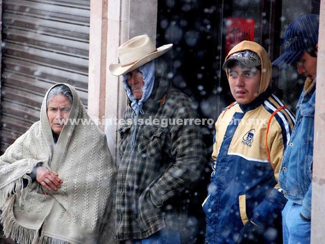 Durango registra ambiente helado con 11 grados bajo cero