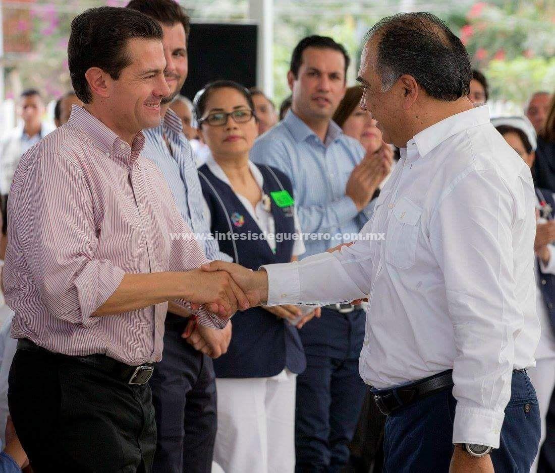 En su visita 36 a Guerrero, Peña Nieto entrega obras por mas de mil 600 MDP