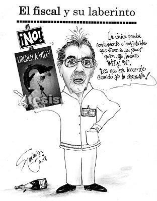 El Cartón de Nacho's: El Fiscal en su laberinto